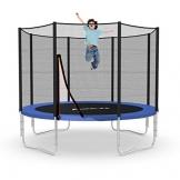 Ampel 24 Trampolin Ø 305 cm blau | Gartentrampolin Komplettset mit verstärktem Netz | belastbar bis 150 kg -