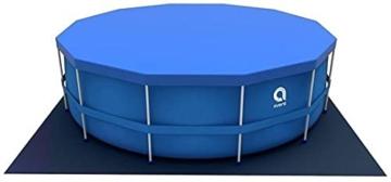 Avenli Pool - 366x76 cm - komplett mit Filter, Pumpe und Deckel - Blau - 4