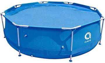 Avenli Pool - 366x76 cm - komplett mit Filter, Pumpe und Deckel - Blau - 5