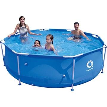 Avenli SteelSuper Stahlramen Aufstellpool 300 x 76 cm Frame Pool Schwimmbecken Gartenpool ohne Pumpe - 3