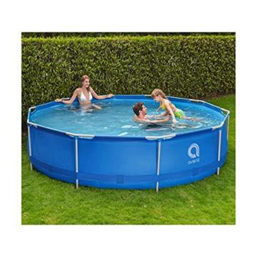 Avenli SteelSuper Stahlramen Aufstellpool 300 x 76 cm Frame Pool Schwimmbecken Gartenpool ohne Pumpe - 4