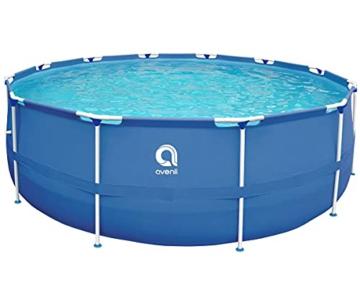 Avenli SteelSuper Stahlramen Aufstellpool 300 x 76 cm Frame Pool Schwimmbecken Gartenpool ohne Pumpe - 1
