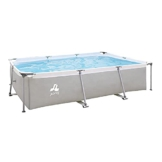 Avenli SteelSuper Stahlramen Aufstellpool Rechteckig 300 x 207 x 65 cm Frame Pool Rectangular Schwimmbecken Gartenpool ohne Pumpe - 1