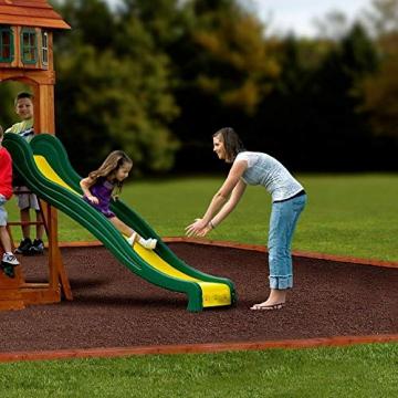 Beauty.Scouts Holzspielhaus Tasso inkl. Leiter + Rutsche + Sandkasten + Schaukel 236,2x551,2x284,5cm Kinderspielhaus Holzhaus Stelzenhaus groß Spielplatz - 7