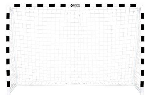 Best Sporting Fußballtor Soccer 300 x 160 x 90 cm, schwarz-weiß - 1