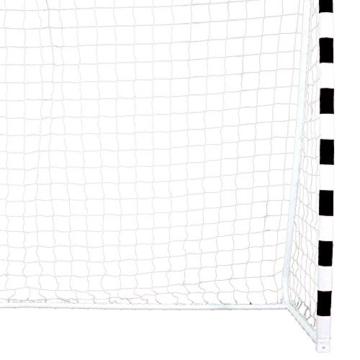Best Sporting Fußballtor Soccer 300 x 160 x 90 cm, schwarz-weiß - 3