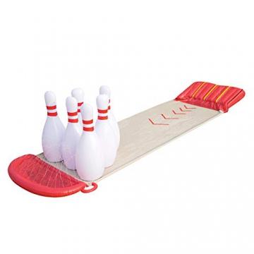 Bestway 52213 - H2OGO Slide-n-Splash Bowling Wasserrutsche, 549x138 cm - 1