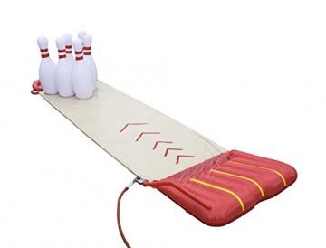 Bestway 52213 - H2OGO Slide-n-Splash Bowling Wasserrutsche, 549x138 cm - 2