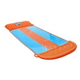BESTWAY 52258 H2OGO Wasserrutsche Slide, Triple, Mehrfarbig, 549 cm - 1