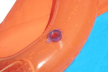 BESTWAY 52258 H2OGO Wasserrutsche Slide, Triple, Mehrfarbig, 549 cm - 10