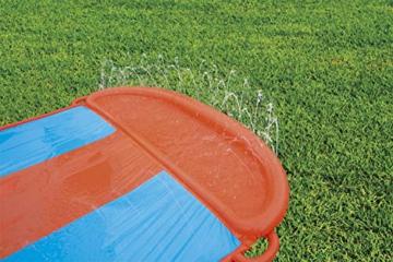 BESTWAY 52258 H2OGO Wasserrutsche Slide, Triple, Mehrfarbig, 549 cm - 4