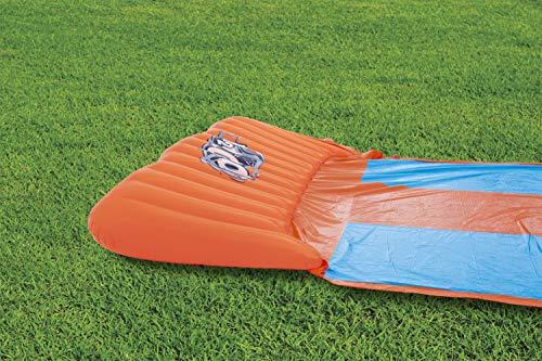 BESTWAY 52258 H2OGO Wasserrutsche Slide, Triple, Mehrfarbig, 549 cm - 5