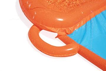 BESTWAY 52258 H2OGO Wasserrutsche Slide, Triple, Mehrfarbig, 549 cm - 7