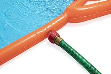 BESTWAY 52258 H2OGO Wasserrutsche Slide, Triple, Mehrfarbig, 549 cm - 9