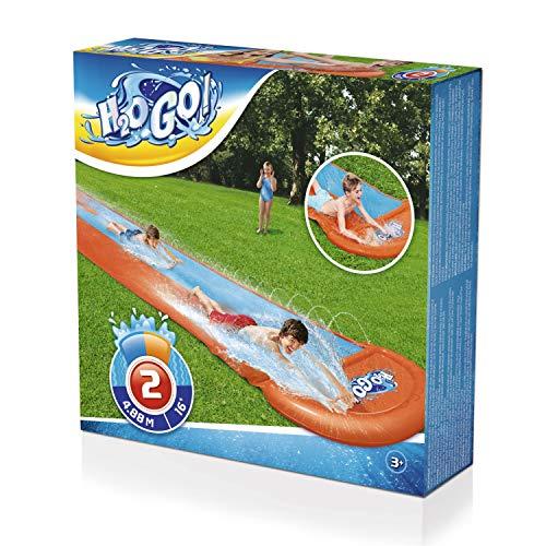 Bestway 52328 H2OGO Doppel-Wasserrutsche 488 cm, color - 3