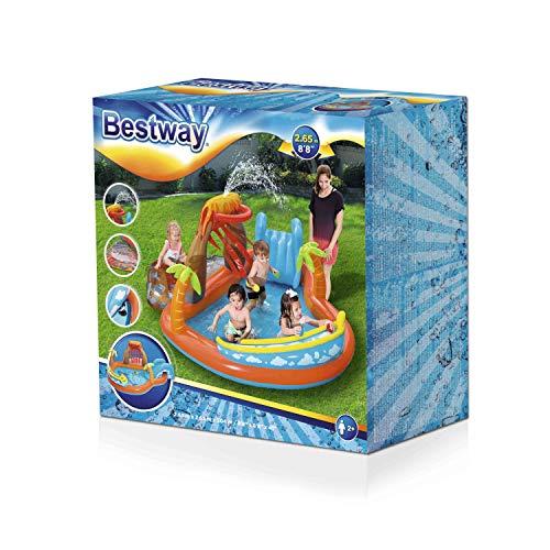 Bestway 53069 Lava Lagoon Play Center Planschbecken 104x104x41cm - 3