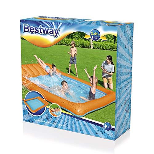 Bestway 53080 Slide-In-Planschbecken 341 x 213 x 38 cm, Color - 3