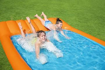 Bestway 53080 Slide-In-Planschbecken 341 x 213 x 38 cm, Color - 5