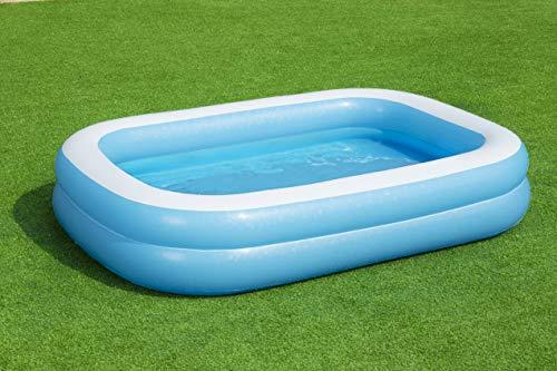 Bestway 54006 Family, Pool rechteckig für Kinder, leicht aufbaubar, blau, 262x175x51 cm, Color - 13