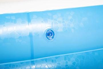 Bestway 54006 Family, Pool rechteckig für Kinder, leicht aufbaubar, blau, 262x175x51 cm, Color - 5