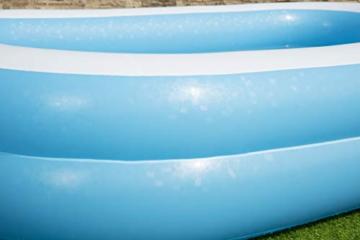 Bestway 54006 Family, Pool rechteckig für Kinder, leicht aufbaubar, blau, 262x175x51 cm, Color - 7