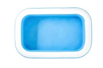 Bestway 54006 Family, Pool rechteckig für Kinder, leicht aufbaubar, blau, 262x175x51 cm, Color - 8