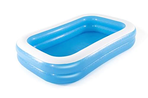Bestway 54006 Family, Pool rechteckig für Kinder, leicht aufbaubar, blau, 262x175x51 cm, Color - 10