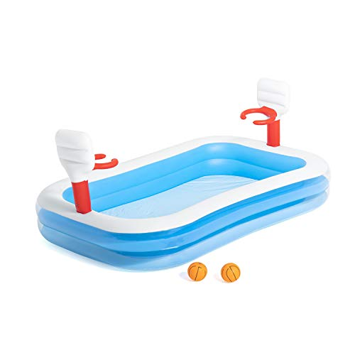 "Bestway 54122 - Planschbecken 254x168x102cm ""Basketball Play Pool"" - 1"