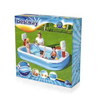 Bestway 54122 - Planschbecken 254x168x102cm