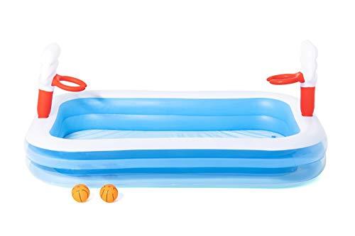 "Bestway 54122 - Planschbecken 254x168x102cm ""Basketball Play Pool"" - 4"