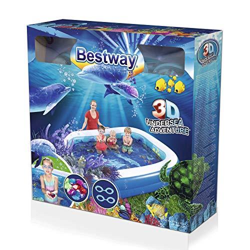 Bestway 54177 Undersea Adventure Pool Planschbecken 262x175x51cm - 3