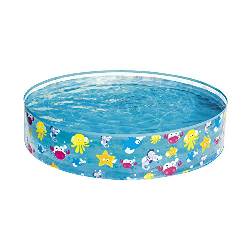 "Bestway 55028 - Fill 'N Fun Fixbecken 122x25cm ""Ocean Life"" - 1"