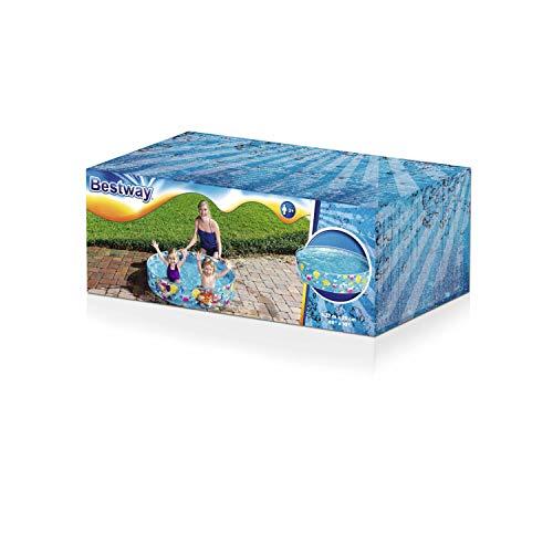 "Bestway 55028 - Fill 'N Fun Fixbecken 122x25cm ""Ocean Life"" - 3"