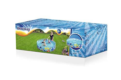 "Bestway 55030 - Fill 'N Fun Fixbecken 183x38cm ""Clownfish"", - 3"