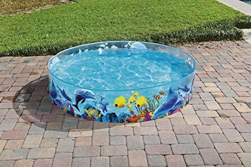 "Bestway 55030 - Fill 'N Fun Fixbecken 183x38cm ""Clownfish"", - 7"