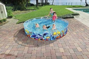 Bestway 55031 Schwimmen Fill ´N Fun Odyssey, Mehrfarbig, 244 x 244 x 46 cm - 10