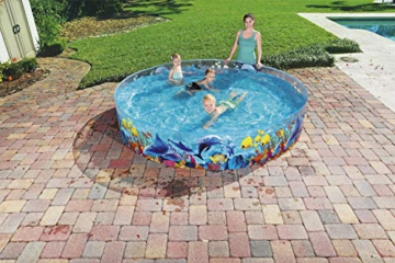 Bestway 55031 Schwimmen Fill ´N Fun Odyssey, Mehrfarbig, 244 x 244 x 46 cm - 11