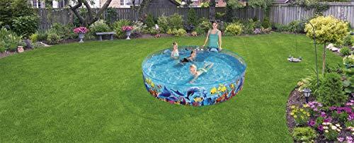 Bestway 55031 Schwimmen Fill ´N Fun Odyssey, Mehrfarbig, 244 x 244 x 46 cm - 2