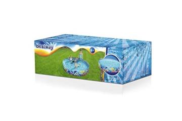 Bestway 55031 Schwimmen Fill ´N Fun Odyssey, Mehrfarbig, 244 x 244 x 46 cm - 3