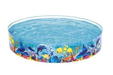 Bestway 55031 Schwimmen Fill ´N Fun Odyssey, Mehrfarbig, 244 x 244 x 46 cm - 6