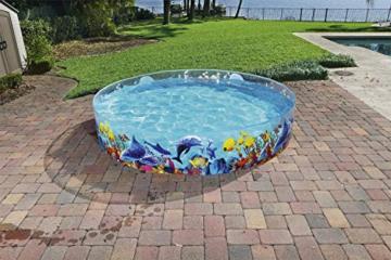 Bestway 55031 Schwimmen Fill ´N Fun Odyssey, Mehrfarbig, 244 x 244 x 46 cm - 9