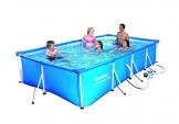 "Bestway 56082 Frame Pool ""Steel Pro"" Set mit Filterpumpe 400 x 211 x 81cm -"