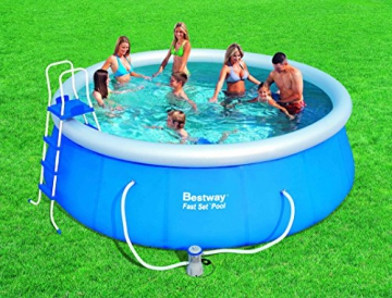 Bestway 57148 Fast Set Pool Set mit Filterpumpe + Zubehör 457x122cm - 6