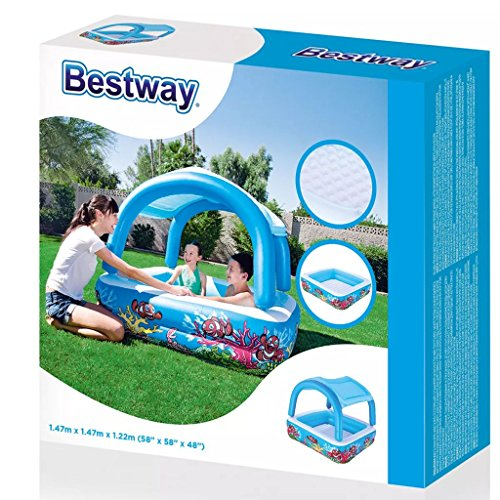 Bestway Canopy Kinder Pool Schwimmbecken Planschbecken Swimmingpool 265 L 52192 - 7