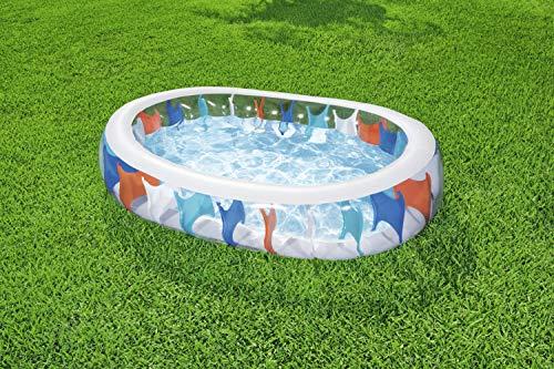BESTWAY Elliptic Pool, Planschbecken 229x152x51 cm - 10