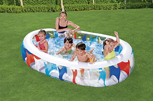 BESTWAY Elliptic Pool, Planschbecken 229x152x51 cm - 12