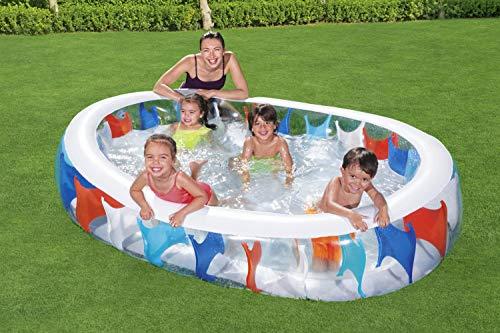 BESTWAY Elliptic Pool, Planschbecken 229x152x51 cm - 2