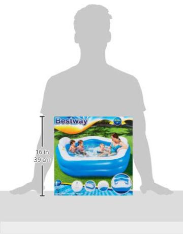 Bestway Family Pool Fun 213 x 206 x 69 cm - 7