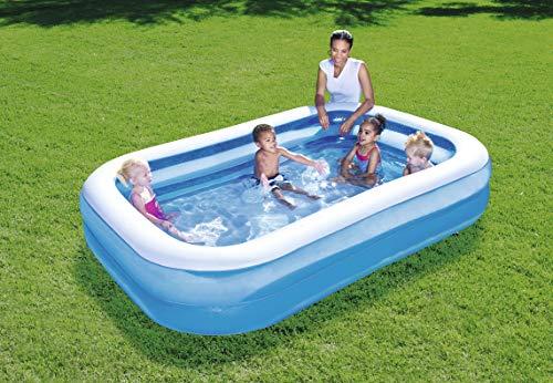 "Bestway Family Pool""Blue Rectangular"", 262x175x51cm - 2"