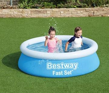 Bestway Fast Set Pool, 183 x 51 cm, ohne Pumpe, rund, blau - 11